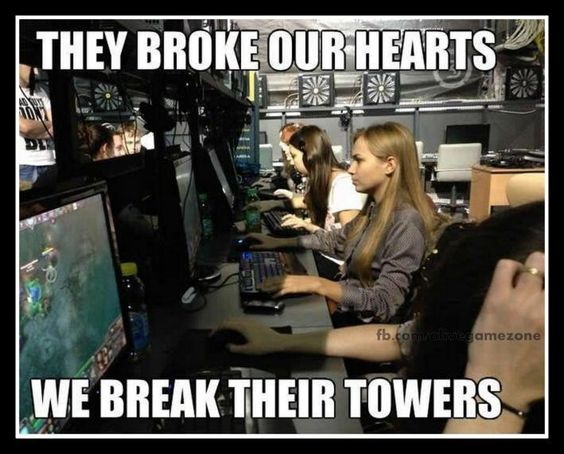 LoL....Seriously...it's LOL (League of Legends) :))))
