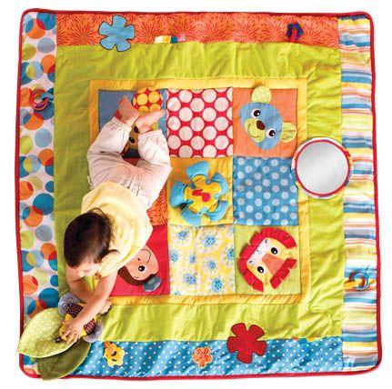 Infantino jumbo patchwork play mat