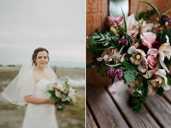 The Botanique Blog: Jessica and Dean- Local Wedding Flowers in February