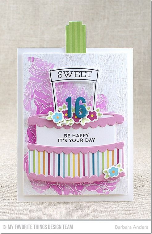 Twice the Wishes Card Kit - Barbara Anders  #mftstamps: