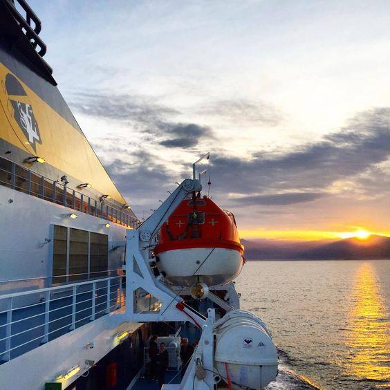Traversée Toulon - Ajaccio, mai 2015 avec Corsica Ferries