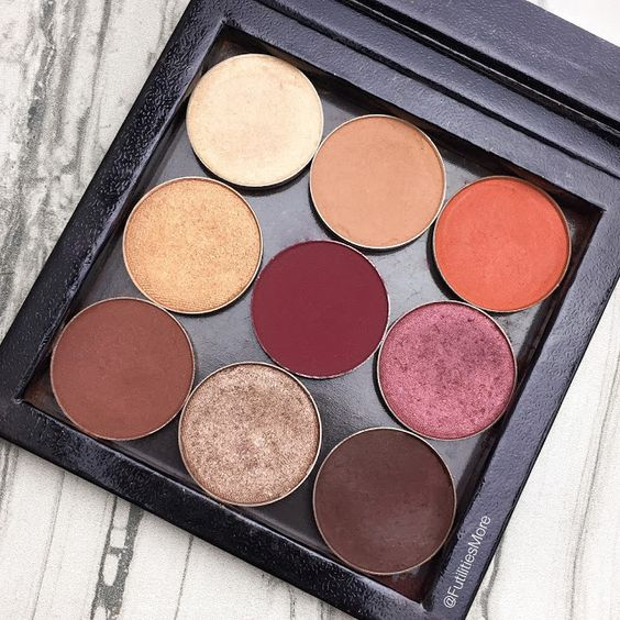 Image result for makeup geek burgundy palette