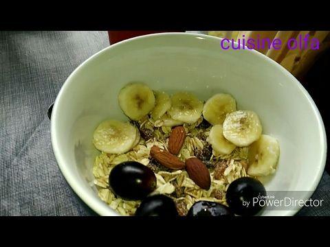 فطور صباحي صحي و كلو طاقة فيديو تعاوني مع قناة Food Breakfast Oatmeal