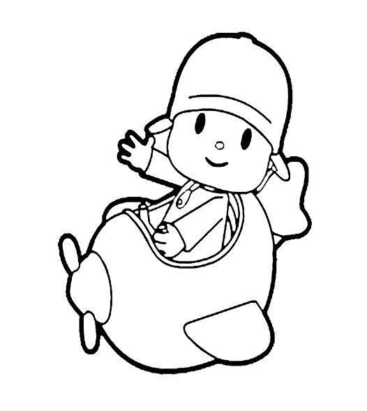 30 Desenhos do pocoyo para pintar, colorir, imprimir! Pocoyo para pintar! Moldes e riscos de Pocoyo e sua turma - Espaço Educar desenhos para colorir