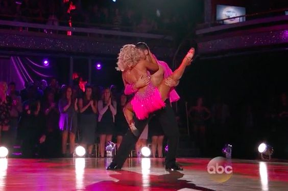 "With partner injured, Paige VanZant still lands high scores on 'Dancing With The Stars'...      Call Paige VanZant the Nate Diaz of dancing. VanZant took a new partner on short notice and still crushed her Latin dance on ABC's ""Dancing With The Stars"" on Monday night. VanZant and new partner Alan Bersten landed eights across the board for a score of 24 out of a......http://bit.ly/1TfD8t4"
