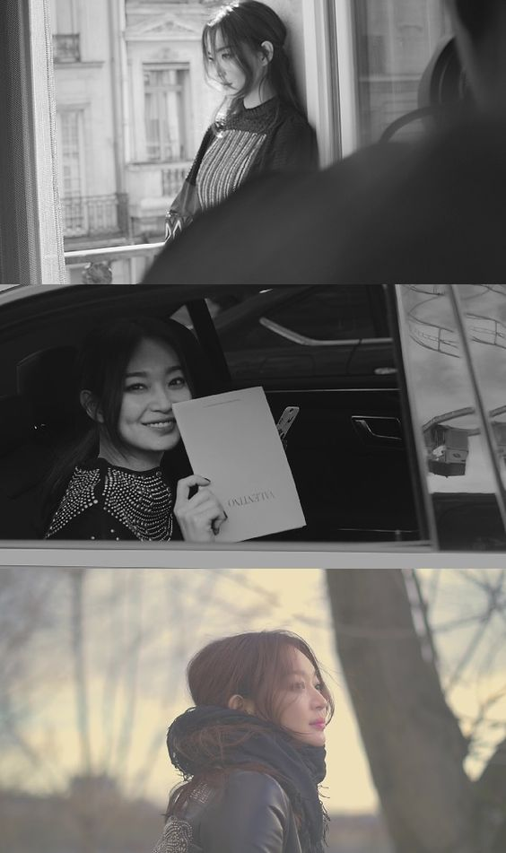 Sin Min-ah in Paris shares her story