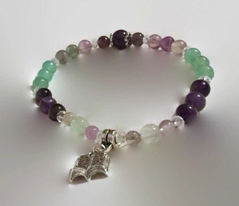 This gorgeous bracelet has been lovingly created using a carefully selected combination of semi precious Gemstones. Your bracelet will include 3 or 4
