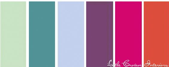 Globally Inspired Color Scheme for Girls' Rooms