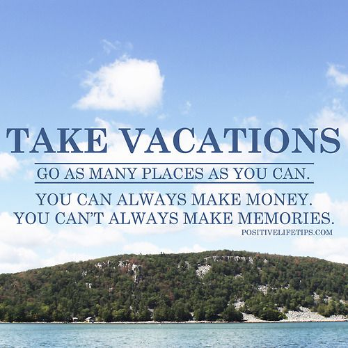 Take the long-awaited (brief) vacation, or save for the uncertain future?
