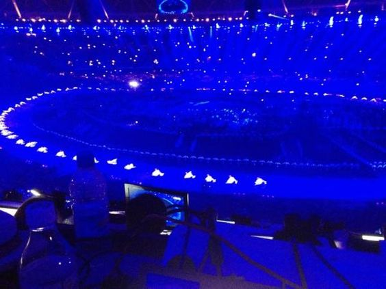 2012 Olympic Ceremony- Peace Doves
