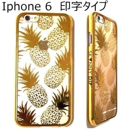 高級パイン! ネーム印字タイプ iphone6ケース skinnydip 即納