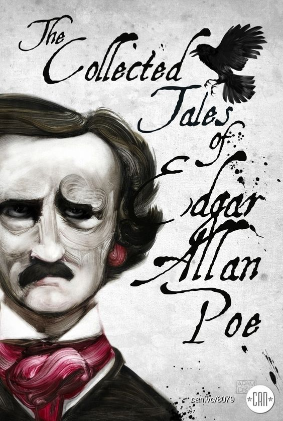 The Collected Tales of Edgar Allan Poe  -  Via recoveringtheclassics.com Artwork by Adam S Doyle