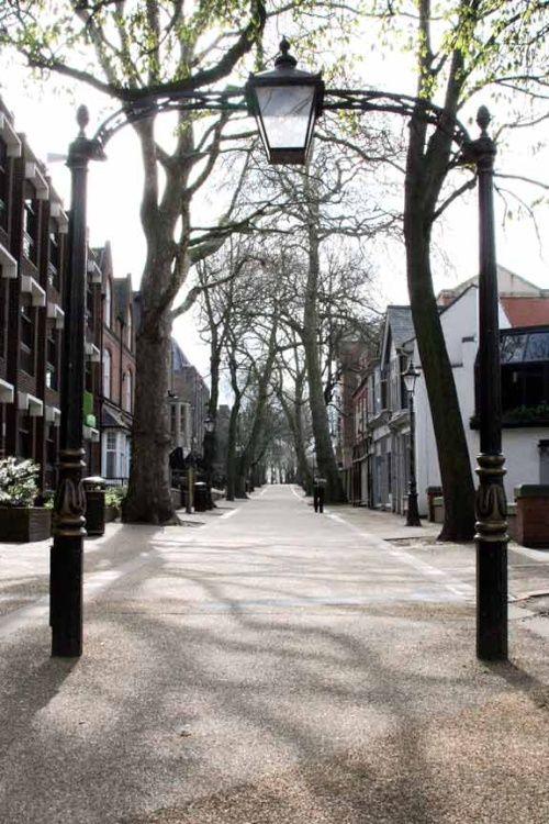 Leicester New Walk, England