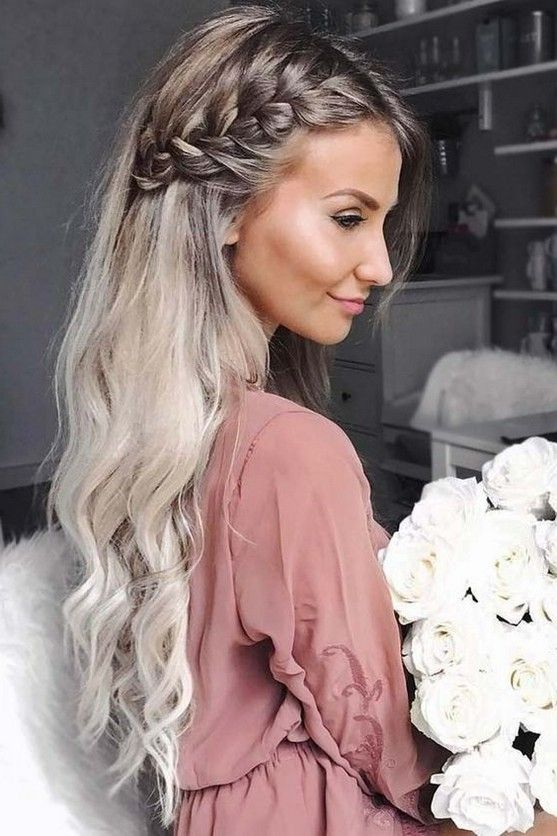 50 Most Gorgeous Twisted Braided Blonde Hairstyles Idea For Summer Prom Page 8 Of 58 Diaror Side Braid Hairstyles Elegant Hairstyles Braids For Long Hair
