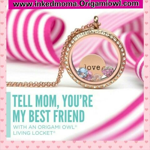 Mothers Day is right around the corner! It's not too late to get her the perfect gift :-) Order Today www.inkedmoma.Origamiowl.com
