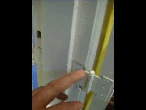 Pino de segurança para travar janelas e portas