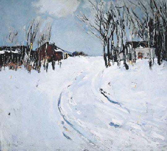 Thomas L. Hunt -   Winter Mantle