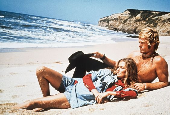 Lauren Hutton and Robert Redford, Little Fauss and Big Halsy, 1970: