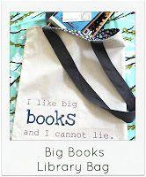 Sew Delicious: Tutorials   Big Books Library Bag