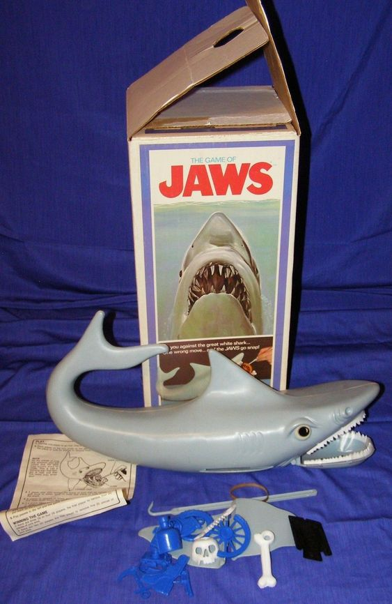 Shark Toys And Games : Remembering some of those cool vintage s toys