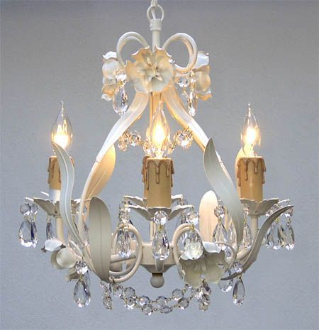 A crystal chandelier sets a mood and creates visual interest in a room while exuding volumes of elegance. Description from ebay.com. I searched for this on bing.com/images