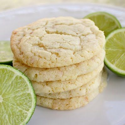 Coconut Lime Sugar Cookies...Yum
