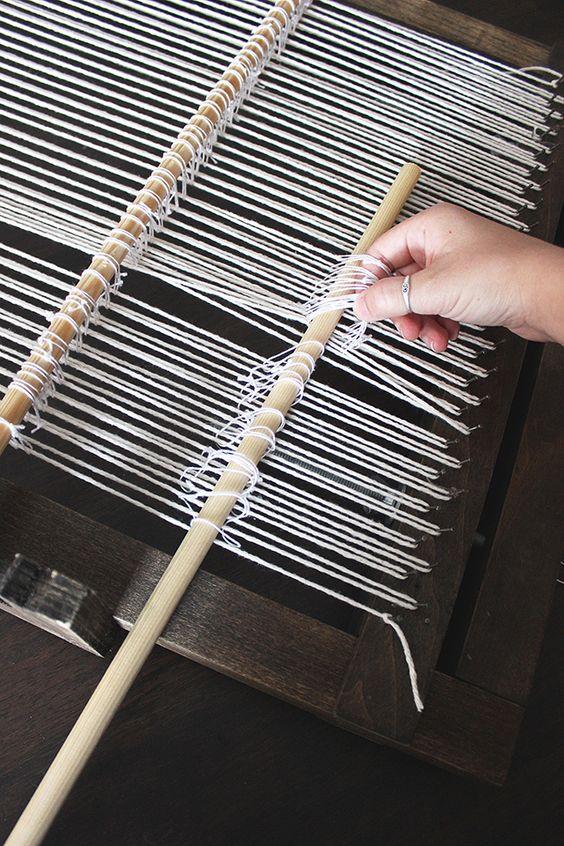 Weaving Hydrangeas And Loom On Pinterest