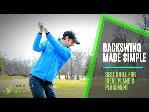 9 Perfect Backswing Plane And Placement Lift Arms Simple