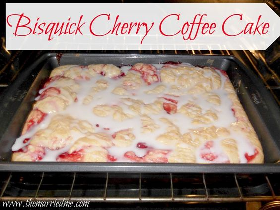 Recipes With Bisquick And Cherries Coffee Cake