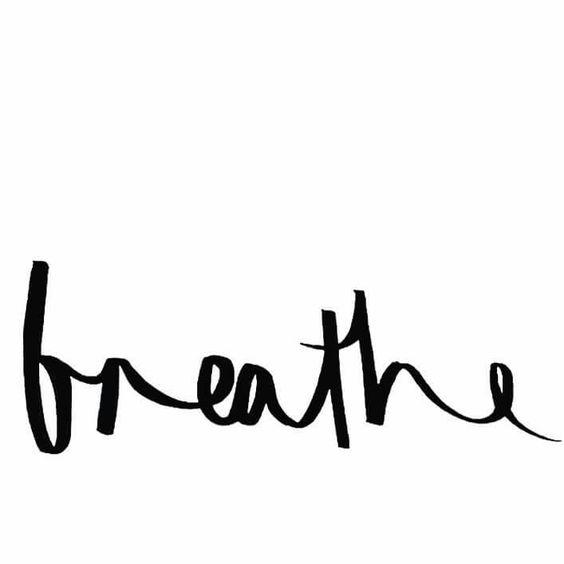 Breathe tattoo