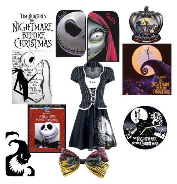 """Tim Burton's Nightmare before Christmas"" by shannongarner ❤ liked on Polyvore featuring Burton and Disney"