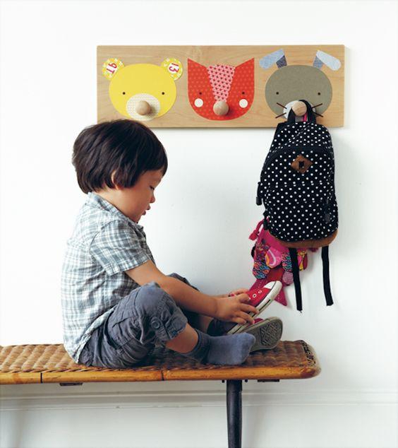 Habitaciones infantiles 5 percheros originales - Habitaciones infantiles originales ...