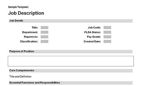 Job description templates download Download toolkit BUSINESS - job description templates