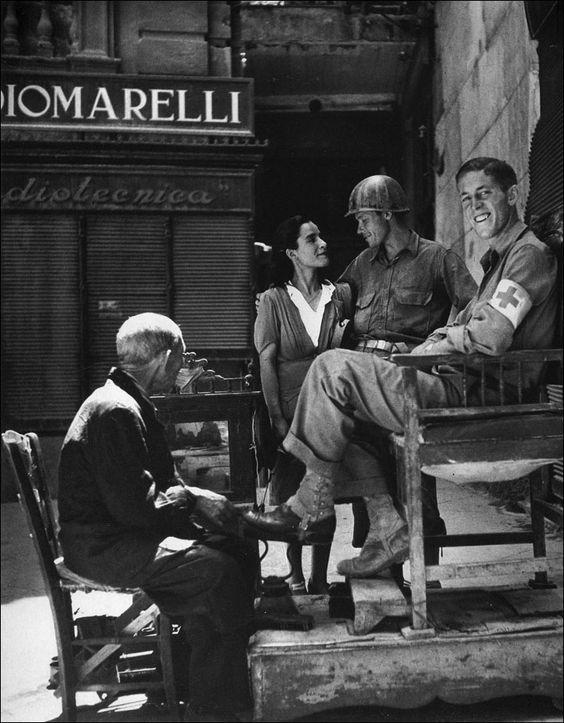Palermo, 1943. Foto: Robert Capa.