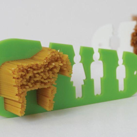 Wenn ich Hunger habe, dann mache ich mir oft zu viel Spaghetti ... Pferdeportion sozusagen.