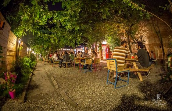 The hidden gardens of Bucharest – during summer you can escape the heat & noise by relaxing in one of the many beautiful, secluded terraces. Pick your oasis of calm in the heart of the city!