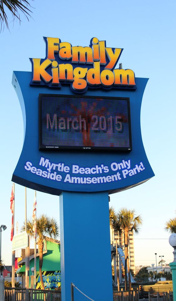 Spring is right around the corner and Family Kingdom Amusement Park in Myrtle Beach, South Carolina will be opening in March! Get ready to ride your favorite and check out the area's other amusements and attractions!  http://www.visitmyrtlebeach.com/thing