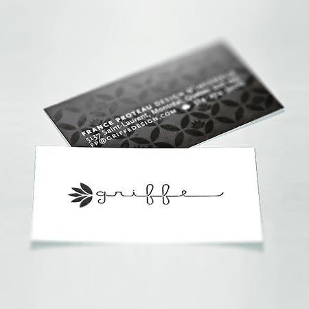 carte d'affaire design