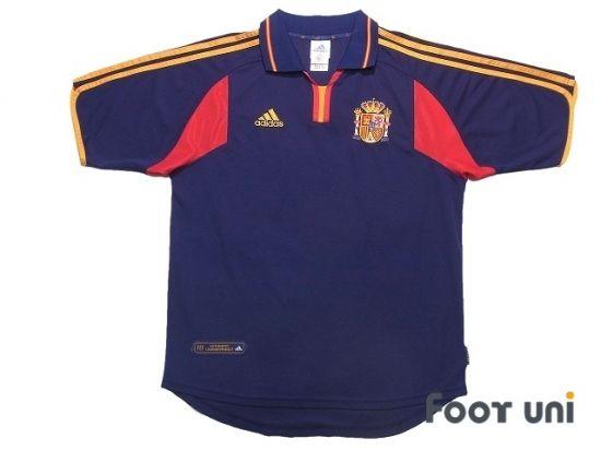 Spain 2000 Away Shirt In 2020 Soccer Shirts Retro Football Shirts Shirts