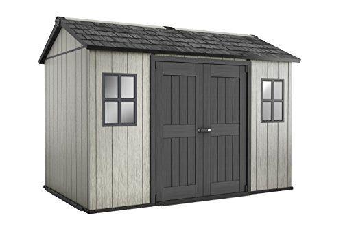 Keter 17204172 Table De Camping Gris 350 X 229 X 254 Cm Cabane Jardin Rangement Exterieur Construire