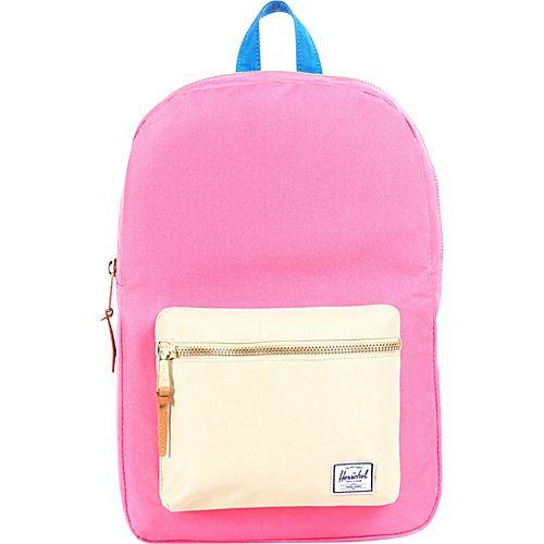 #Backpacks, #HerschelSupplyCo, #LaptopBackpacks - Herschel Supply Co. Settlement Mid-Volume Cobalt/Green - Herschel Supply Co. Laptop Backpacks