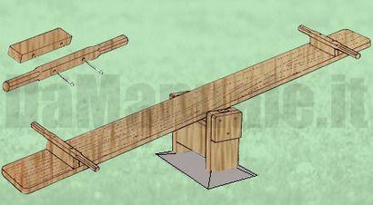 Come costruire un'altalena a bilico:
