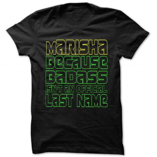 Badass Marisha - Cool Name Shirt !!! - #gifts for girl friends #man gift. Badass Marisha - Cool Name Shirt !!!, bestfriend gift,shirtless. OBTAIN LOWEST PRICE =>...