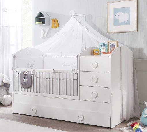 Cilek Baby Cotton Baldachin A Kimmel Gyerekbutortol Toddler And Baby Room Baby Bed Toddler Bed