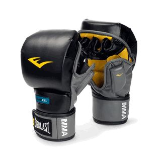 Everlast MMA Gel Striking Gloves. I can't wait to break these in.