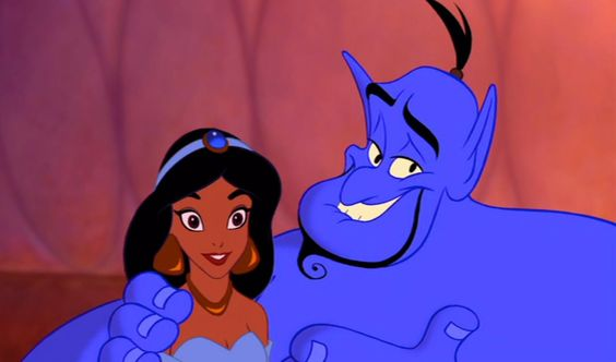 """""""Al, you're not gonna find another girl like her in a million years. Believe me, I know. I've looked."""" - Genie from Aladdin"""