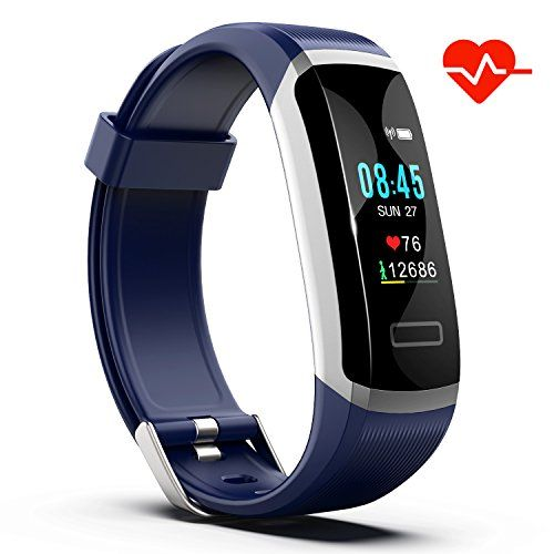 Akuti Fitness Tracker Hr Fitness Watch With Heart Rate Monitor Activity Tracker Sleep Monitor Step Counter Calories Watch Ipx7 Waterproof Smart Wristband P Fitness Watch Smart Bracelet Fitness Watches For Women