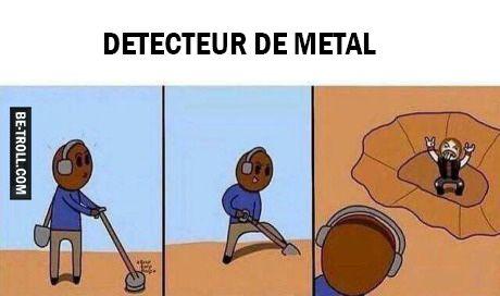 Un détecteur de métal