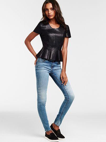 Mid-rise Legging Jean