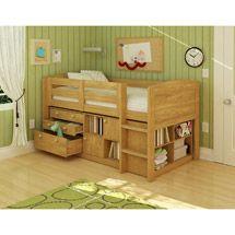 Tarryn: Walmart: Georgetown Loft Bed, Natural